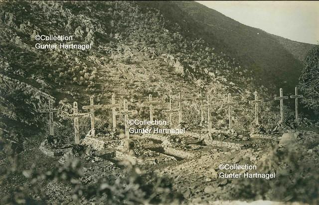 Amanus mountains, German EBSK5 cemetery