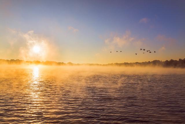 Morning on Reed's Lake