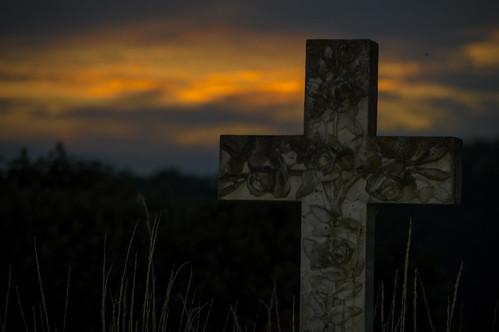 thenutshell sunset church gravestone shadows abigfave nikon nikond3200 tamron70300 stonehouse nostrobistinfo removedfromstrobistpool seerule2