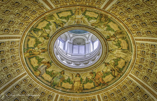 Library of Congress Reading Room Dome | by yeahbouyee