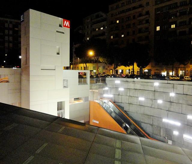 ROMA - Stazione Metro Annibaliano