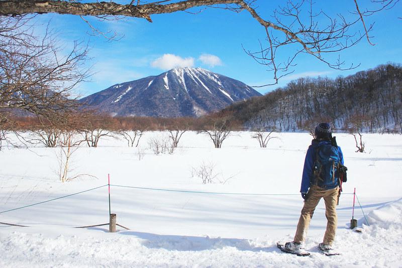 雪原の戦場ヶ原
