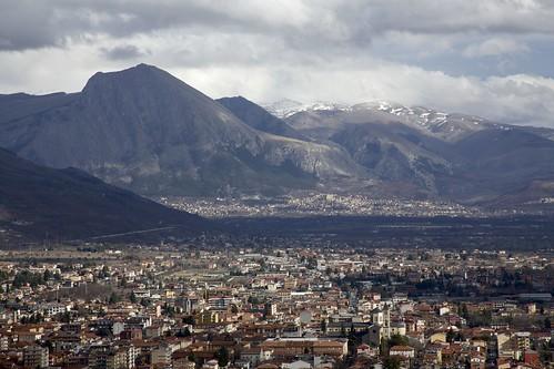 winter mountains day cloudy laserra celano fucino avezzano marsica