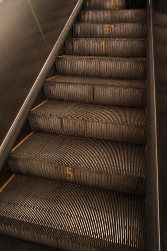 687 steps in this escalator! | by Marcus Wong from Geelong