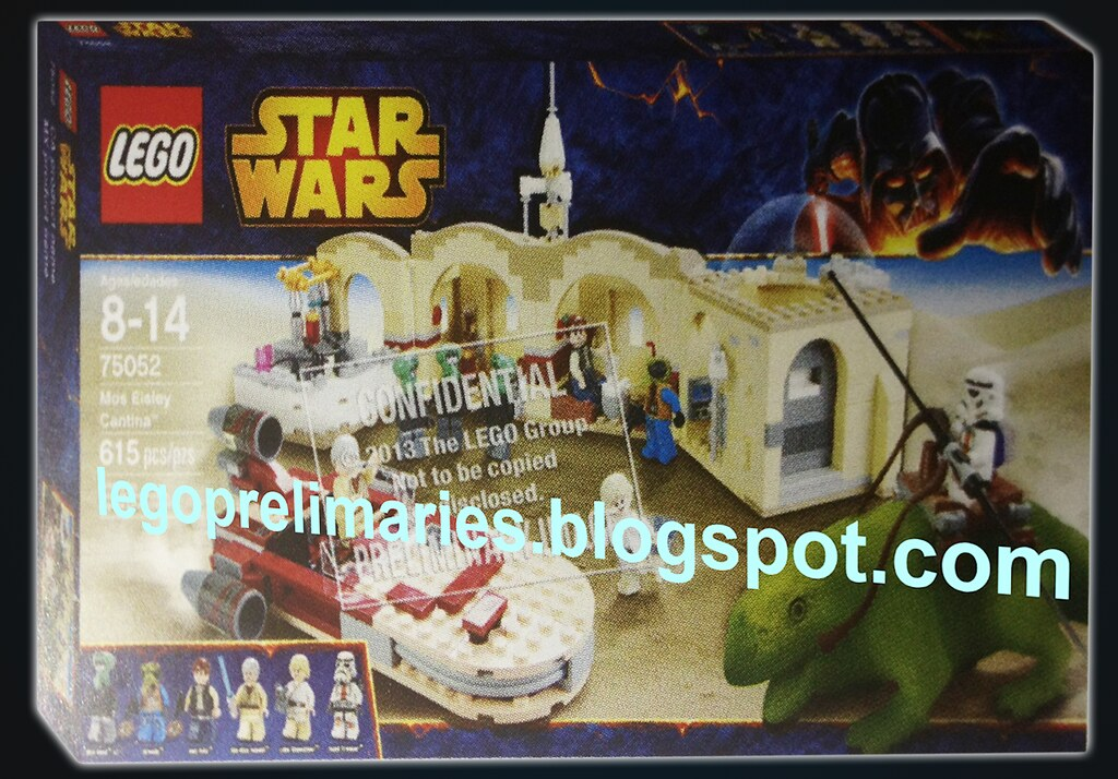 Lego Star Wars 75052 Mos Eisley Cantina Came Across With T Flickr
