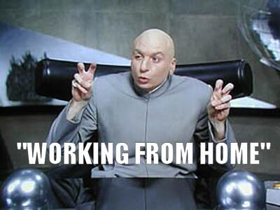 Dr Evil Working From Home | Air quotes meme | Ryan Tracey | Flickr