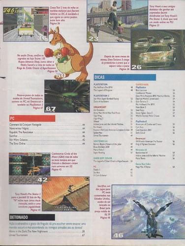 Super Gamepower n.88 - sumário