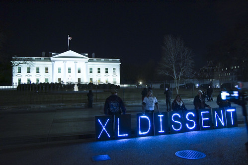 White House Message | by Overpass Light Brigade