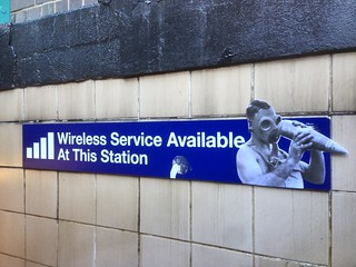 Wireless Service Available at This Station (18th St; downtown 1) | by Jilly Ballistic