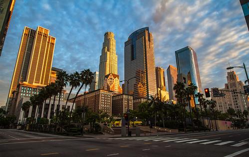 sunrise pershingsquare 1022mm dtla downtownlosangeles canon7d ©shabdrophoto