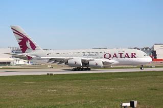 A380 Qatar A7-APA   by XFW-Spotter