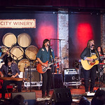 Fri, 24/07/2015 - 9:35am - Amy Ray, Emily Saliers and their band play for FUV Members at City Winery in NYC, 7/23/15. Photo by Gus Philippas/WFUV