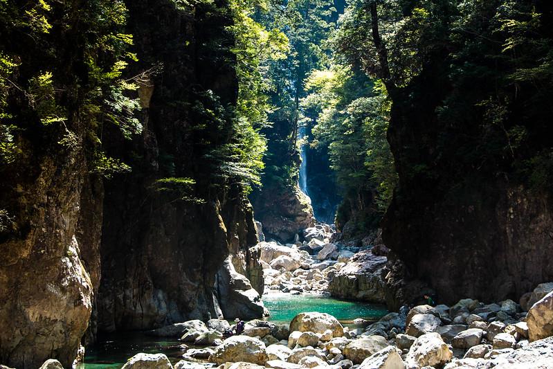 大杉谷峡谷