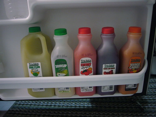 local fruit juices | by swordflower