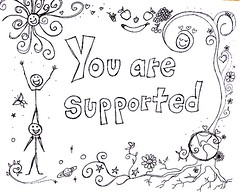 You are supported