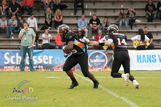 Düsseldorf Panther vs. Kiel Baltic Hurricanes | by AmFiD
