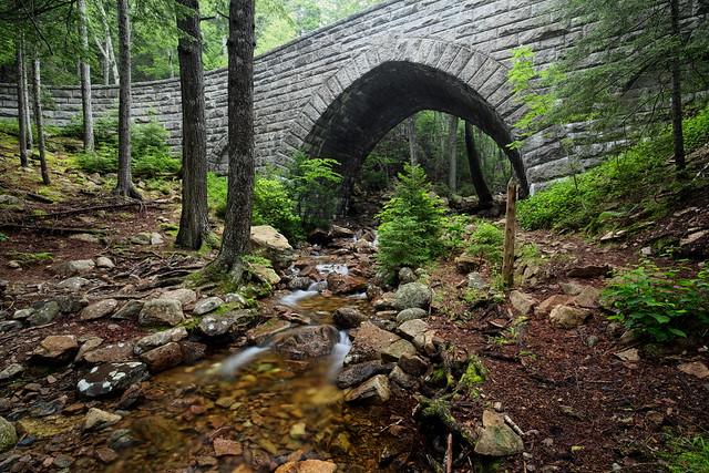 Acadia Carriage Bridge