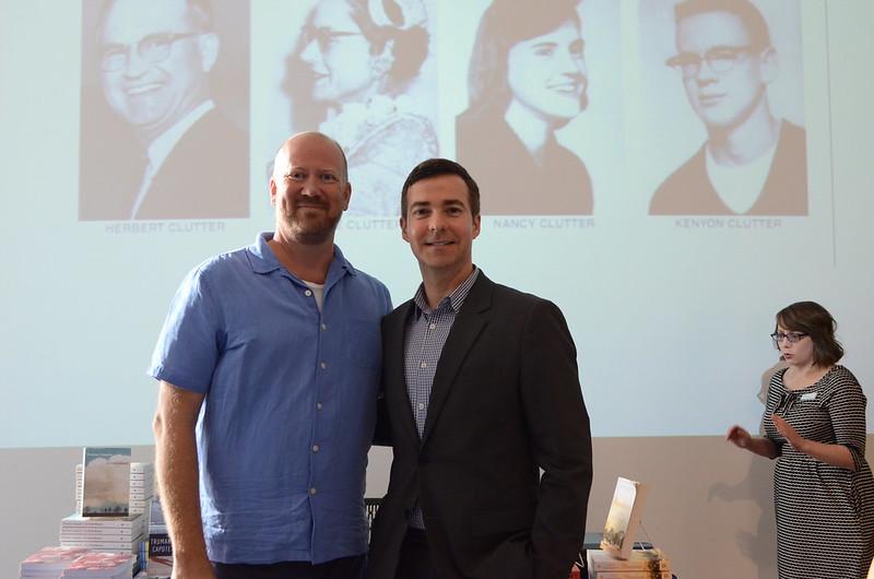 David Ebershoff Visits