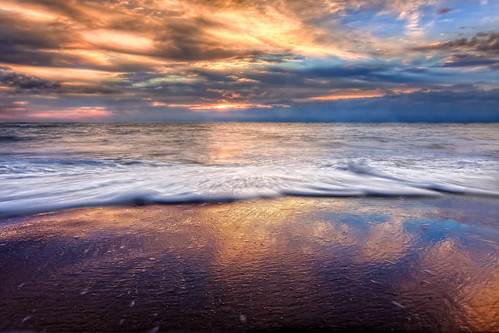 ocean beach photoshop sunrise sand day cloudy assateagueisland eastcoast lightroom crashingwaves photomatix ericbwalker premierehdr