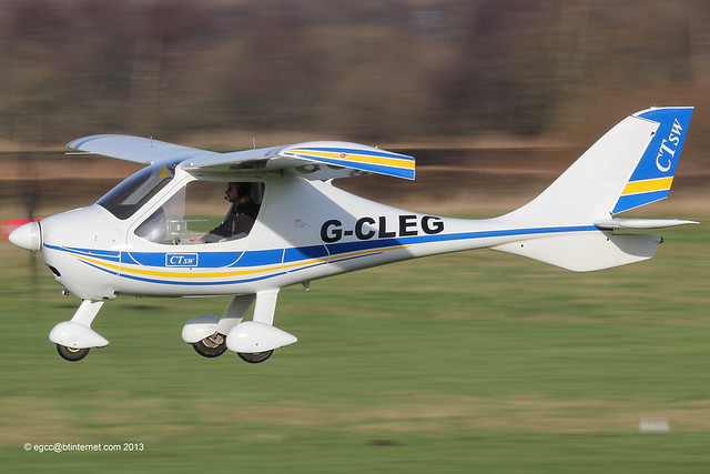 G-CLEG - 2007 build Flight Design CTSW, Barton based