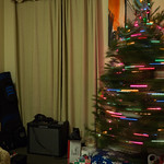 Whirling xmas tree
