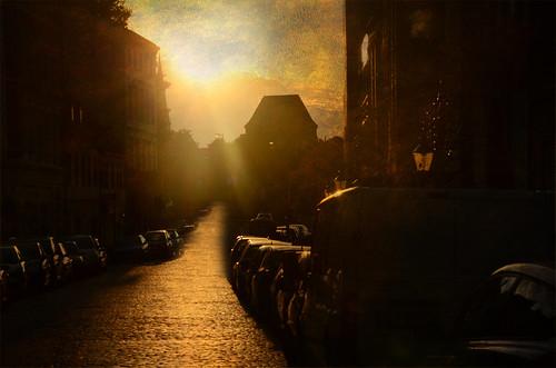 sunset texture sonnenuntergang stadt lübeck goldenhour hansestadt engelsgrube goldenestunde lenabemanna