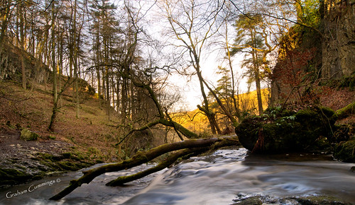 water landscape waterfall tranquil yorkshiredales settle stainforth catriggforce