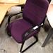 Purple meeting chair