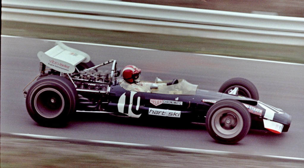 1969 United States Grand Prix Jo Siffert Lotus