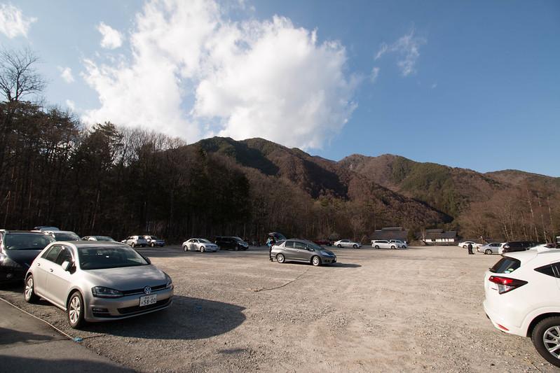 木曽駒ヶ岳の駐車場
