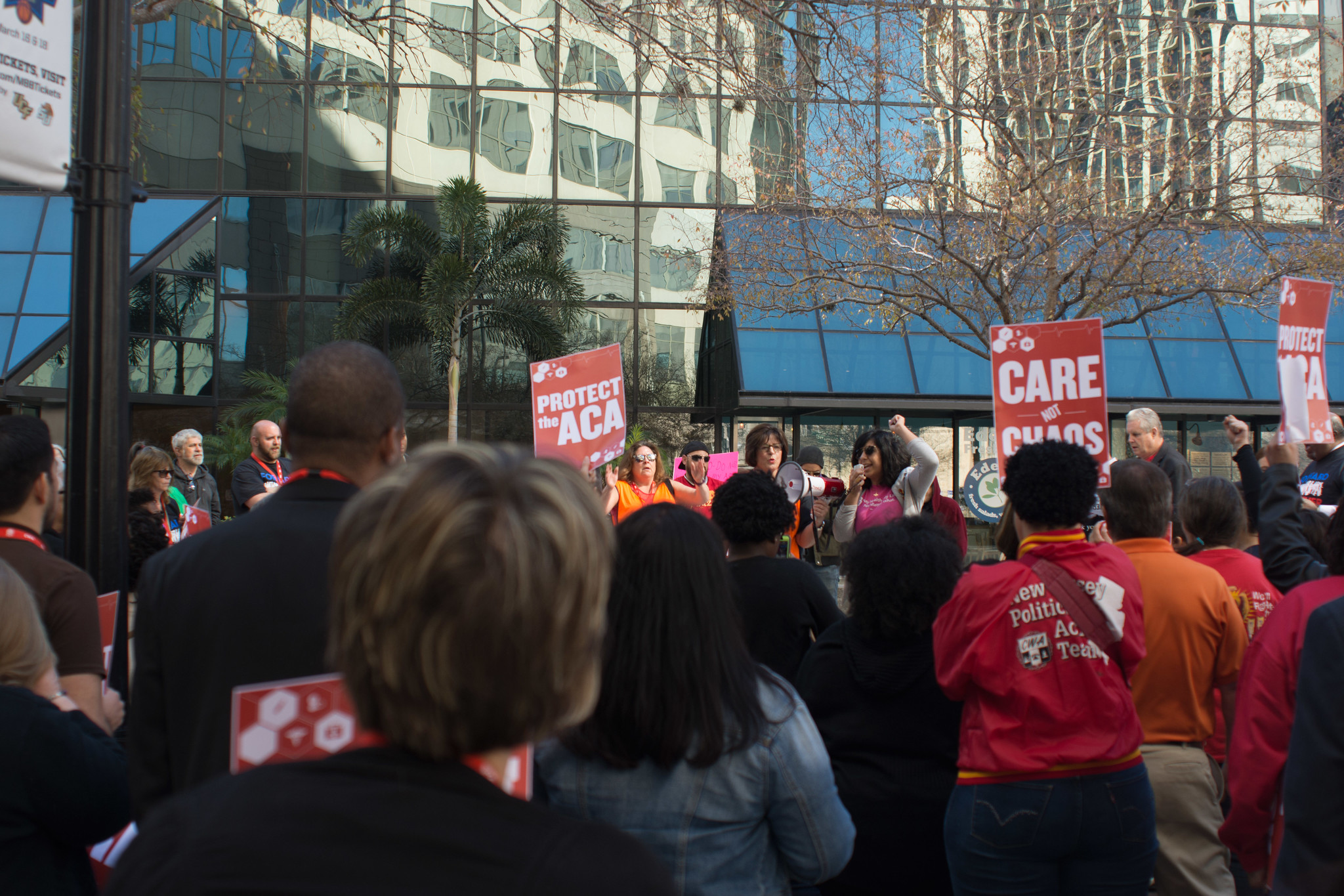 Rally to Defend the ACA in Orlando
