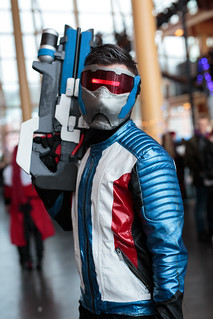 Overwatch Soldier 76 cosplay | by Punapanda