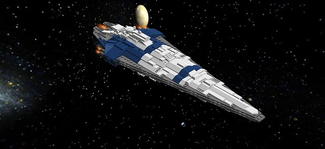 Triangular Ship - Space