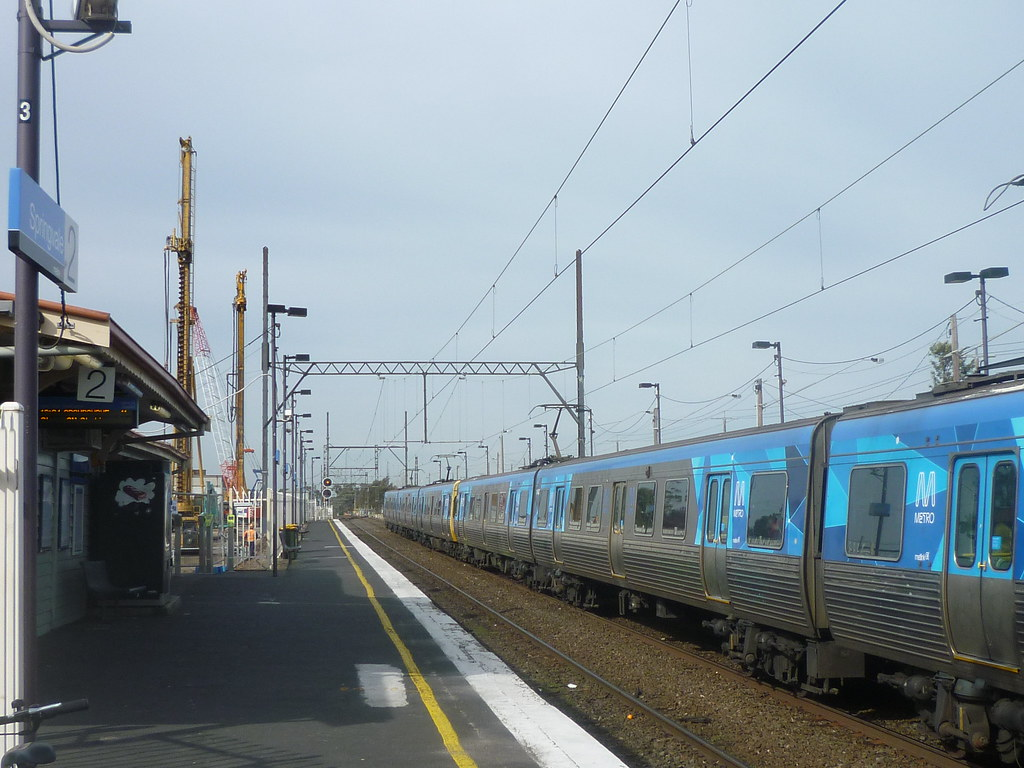Springvale Grade Separation Works July 2013 by AS 1979
