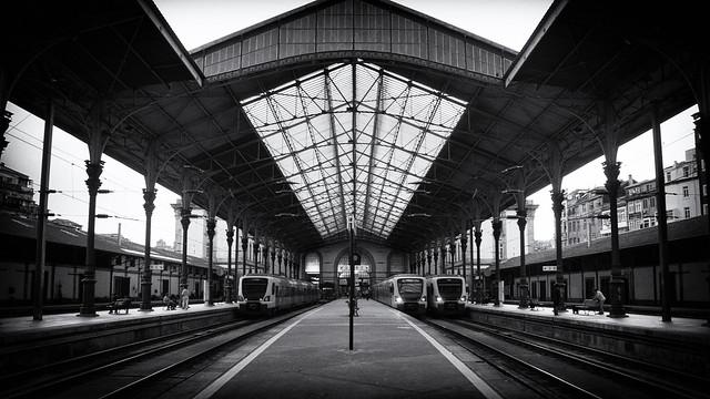 152 ~ At S. Bento Railway Station...
