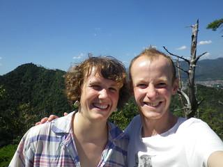Wandern in Miyajima mim Brüderlein | by zwottel_