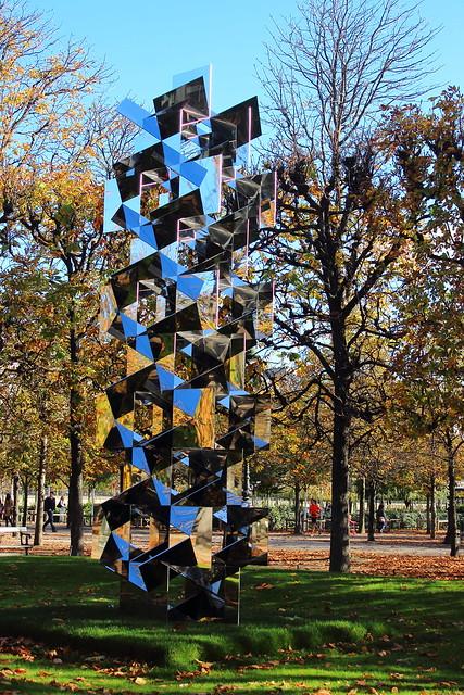 Reflets fondus dans l'automne