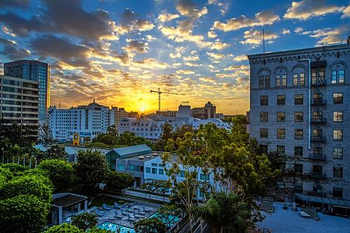 sunrise losangeles dtla downtownlosangeles ©shabdrophoto