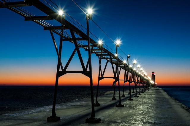 Grand Haven Twilight