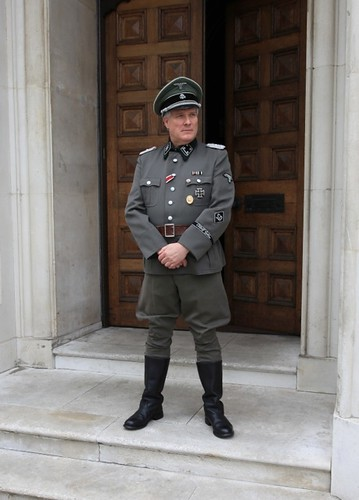 German SS Officer For TV Drama