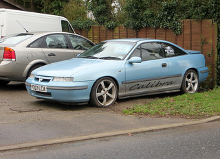 1996 Vauxhall Calibra SE6 | by Spottedlaurel
