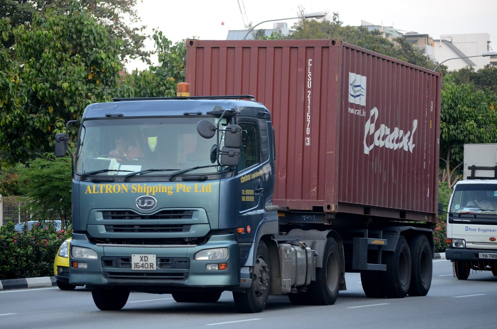 Altron Shipping Nissan Diesel Quon GK45 Container Truck | Flickr