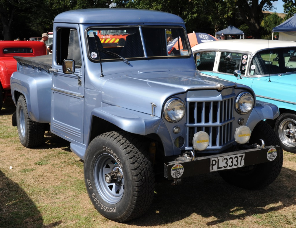 1952 Willys pickup | Morrinsville Motorama at the Polo Groun