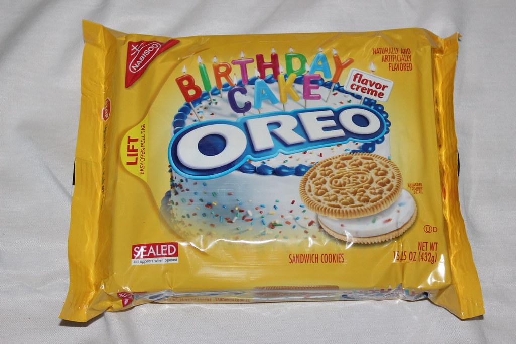 Miraculous Golden Oreo Birthday Cake Yummy Like The Grand Canyon Flickr Personalised Birthday Cards Veneteletsinfo
