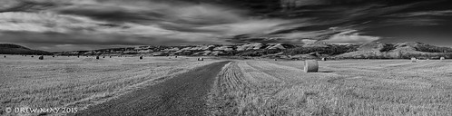 county autumn sky white canada black clouds river landscape photography farm pano may drew battle panoramic wainwright alberta valley fields roads hay bails drewmayphoto