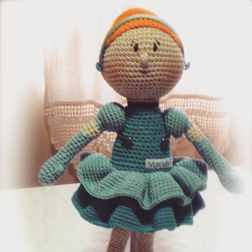 Crochet princess amigurumi pattern | Amiguroom Toys | 1024x1024