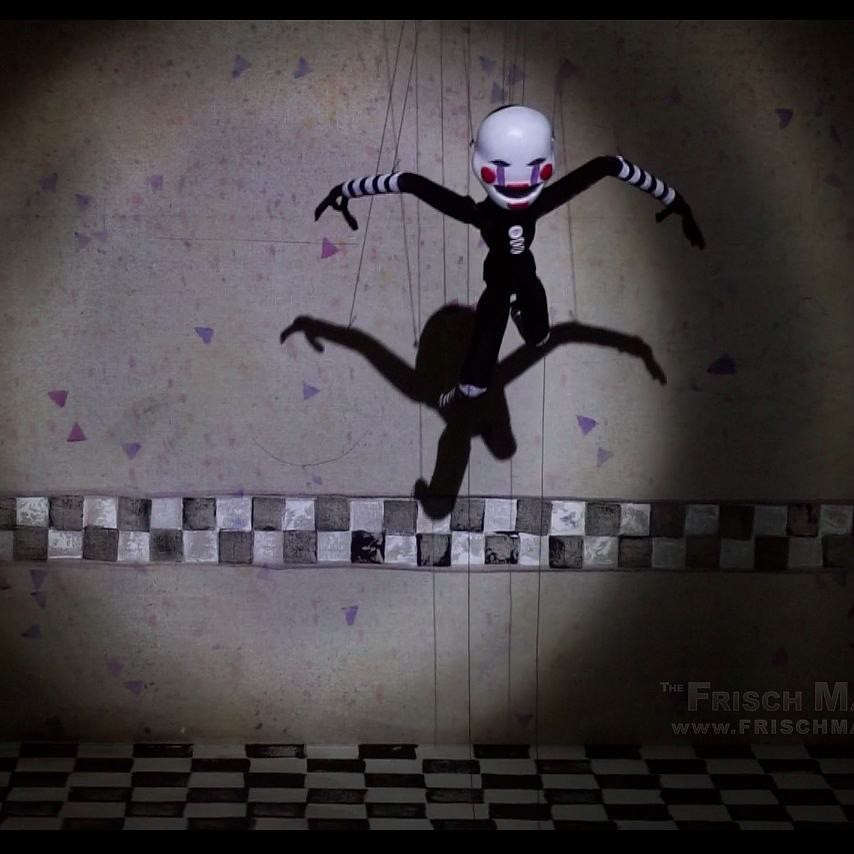 My #thepuppet marionette from #fnaf2! Follow for more! #fn