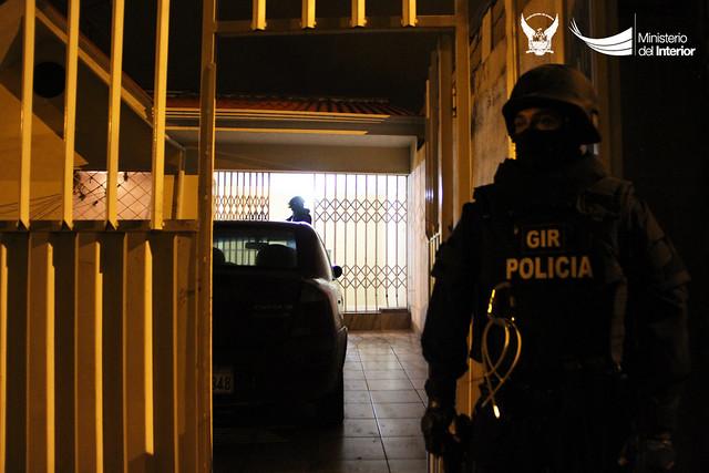 740 agentes policiales y 107 agentes de seguridad penitenciaria participaron en el operativo