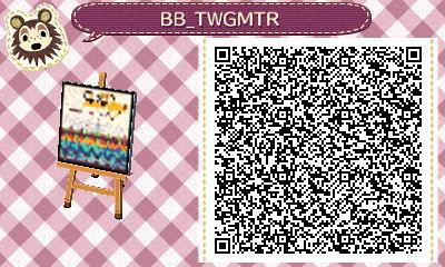 Animal Crossing New Leaf Design Qr Codes Beach Boys Flickr
