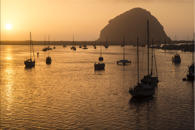 Golden Sunset - Morro Bay